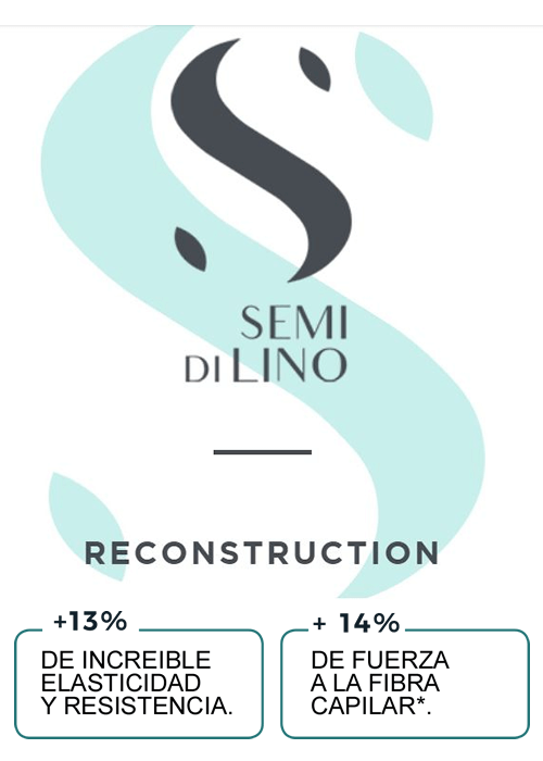 Nuevo logo Semi Di Lino Reconstruction Sedeca de Honduras