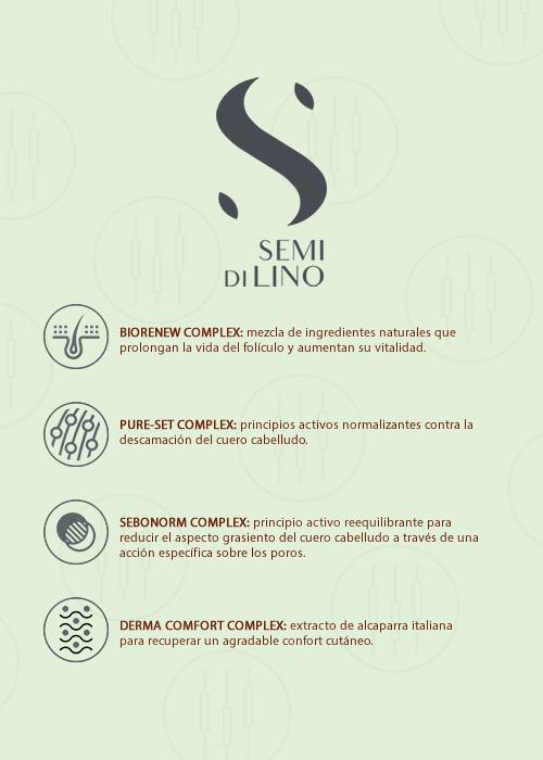 Semi Di Lino Scalp Ingredientes Sedeca de Honduras
