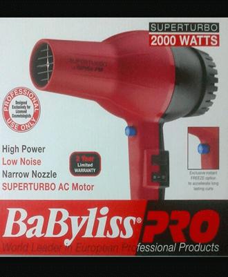 secadora BaByLiss Pro super turbo