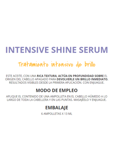 Ye Star Intensive Shine Serum Sedeca de Honduras.fw