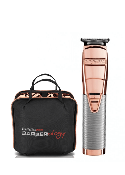 Barberology Rose Gold Trimmer más estuche Sedeca de Honduras