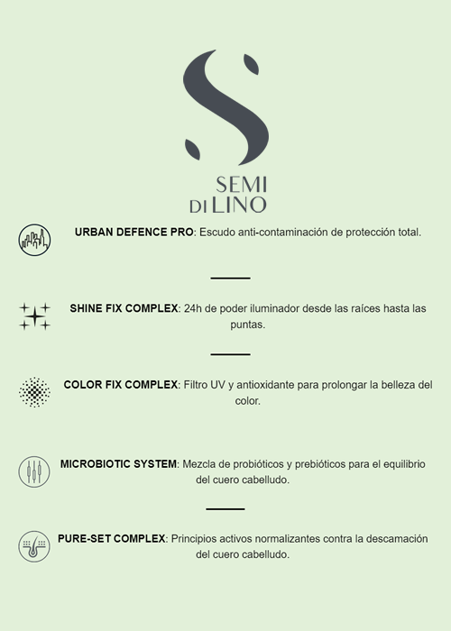Semi Di Lino Scalp Beneficios Sedeca de Honduras