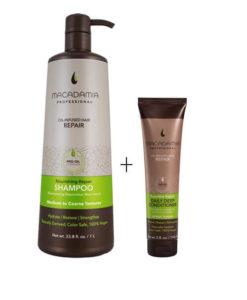Macadamia Nourisihing repair shampoo mas deep daily conditioner Sedeca de Honduras