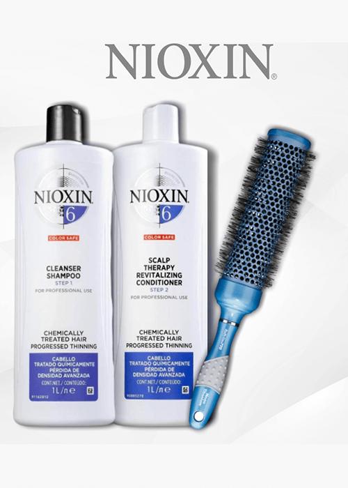 Promoción Nioxin Shampoo Conditioner 1lt Cepillo Sedeca de Honduras