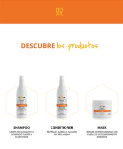 Yellow Repair Línea Shampoo conditiner mask Sedeca de Honduras
