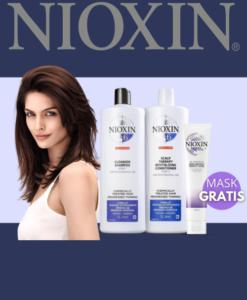 Promoción Nioxin shampoo conditioner mask Sedeca de HondurasPromo Nioxin